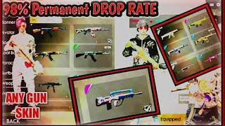 Get permanent Skin in 2 Box🔴98% Permanent drop Rate🔴 Best trick 🤓