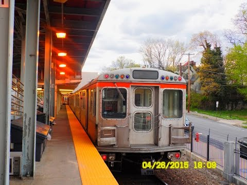🚇/💺 SEPTA: Broad Street Line (Subway) to Fern Rock... FULL RIDE!