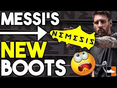adidas Nemeziz 17 Boots! Leo Messi's New Soccer Cleats