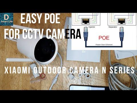 easy-cctv-poe-installation-and-nas-of-xiaomi-xiaobai-outdoor-security-camera-n2