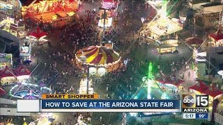How to save money at Arizona State Fair