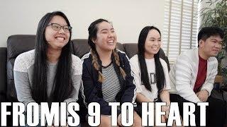 Fromis 9 (프로미스나인)- To Heart (Reaction Video) - Stafaband