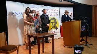 Jan Michał Małek - Laureat II edycji Nagrody im. Fryderyka Bastiata (Warszawa, 17.05.2018 r.)
