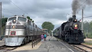 Trains at the Illinois Railway Museum