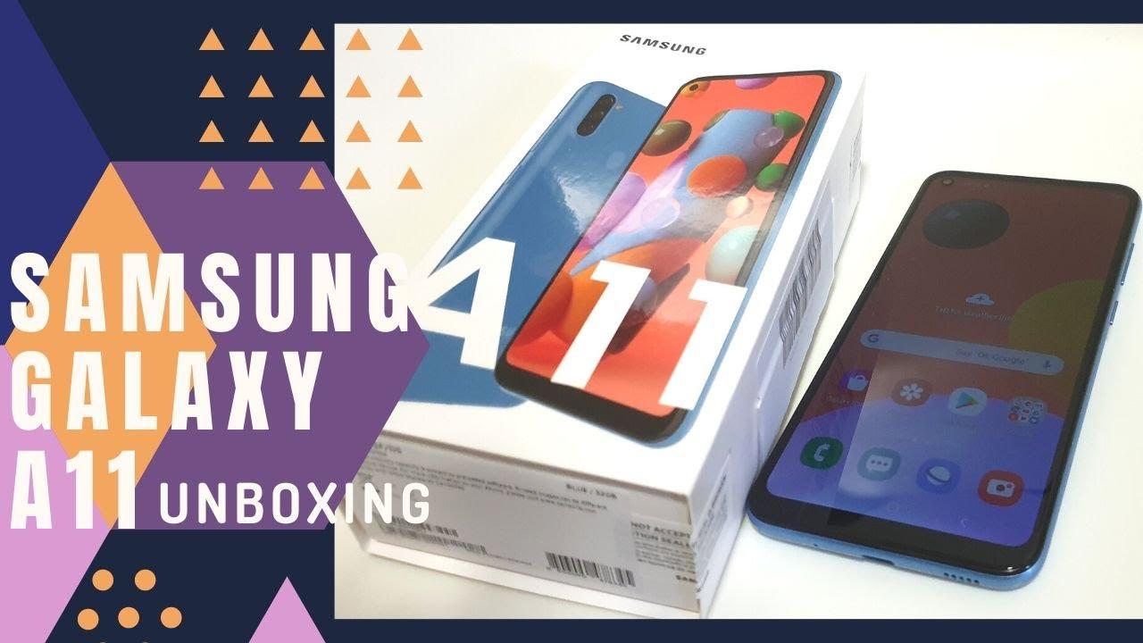Quarantine Unboxing Of Samsung Galaxy A11 32gb Blue Youtube