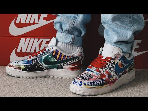 ASAP MOB AIR FORCE 1 SHARPIE CUSTOM TUTORIAL