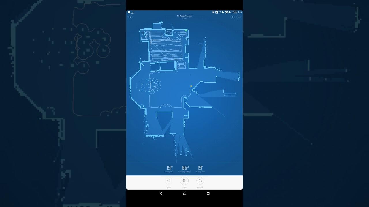 Xiaomi Robot Vacuum Map