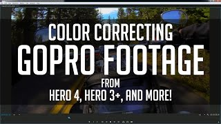 How to Color Grade GoPro Footage Super Fast! - Premiere CC Tutorial