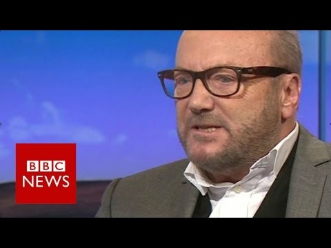 George Galloway annoyed by EU referendum questions in TV interview  - BBC News