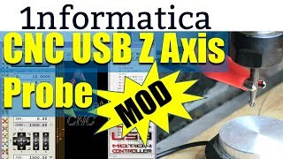 Z Axis Probe CNC USB Controller 3040t Tutorial How to Guide
