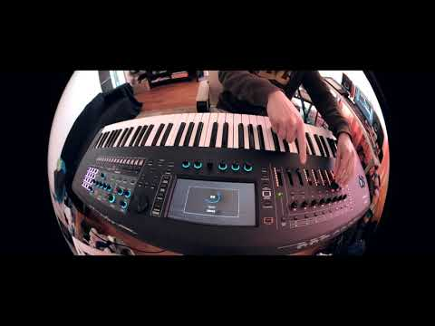 Roland Fantom 7 EDM Vibes (just synth sounds demo)
