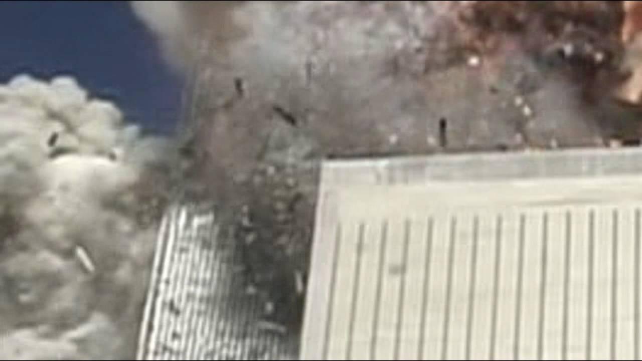 Flight 175 Impact Scott Myers Zoom Slow Motion - YouTube