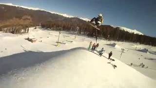 Snowboarding triple Rodeo 1st ever recorded by Billy Morgan