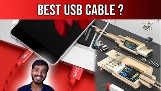 Micro usb cable unboxing and review ALIEXPRESS  RS-200 TOPK | WORST REVIEW EVER ? | Hindi |