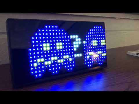 Pac-Man Premium Digital Clock