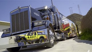 How To Fit An Entire Racing Team Inside One Massive Semi-Truck -- Truck Yeah!