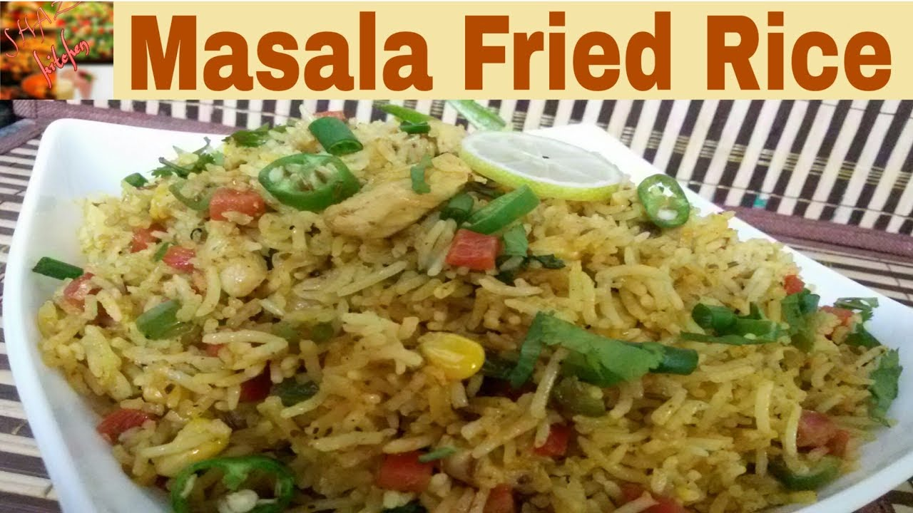 Masala fried ricepakistani style recipein urduhindihow to make masala fried ricepakistani style recipein urduhindihow to make special masala fried rice at home ccuart Images
