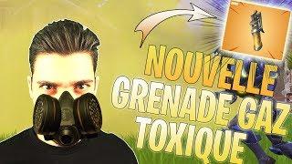 NOUVELLE GRENADE GAZ TOXIQUE SUR FORTNITE ET NOUVEAU MODE CONFRONTATION - GAMEPLAY ET TEST