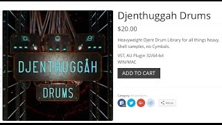 Djenthuggah Drums Demo, Overview And Review By Alex Lucas
