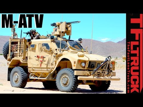 Meet the Oshkosh MATV Mine Resistant Ambush Protected MRAP All