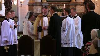 Traditional catholic wedding - ægtevielse i den ekstraordinære form