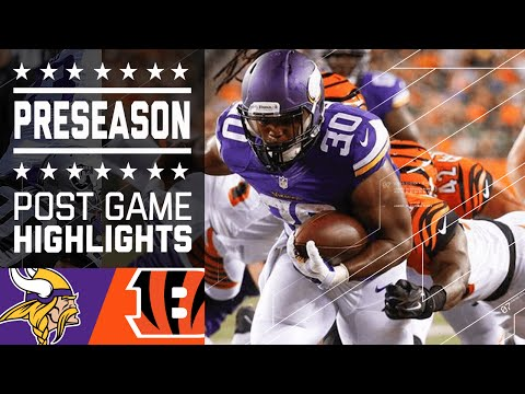 Vikings vs. Bengals | Post Game Highlights | NFL