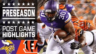 Vikings vs. Bengals | Game Highlights | NFL