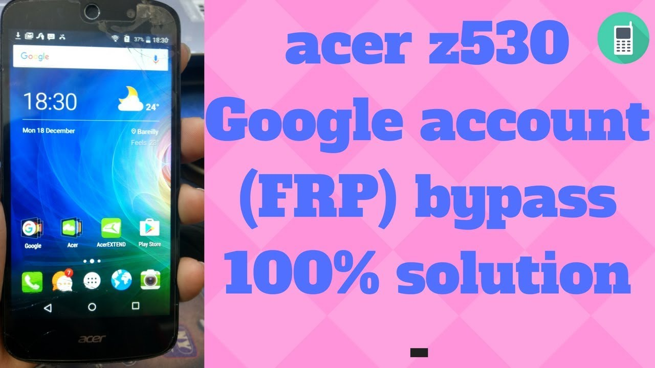 acer z530 Google account FRP bypass 100% solution - - - vimore org