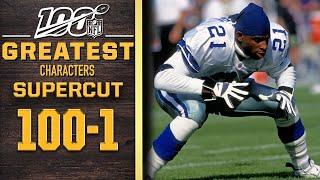 100 Greatest Characters: Numbers 100-1 SUPERCUT | NFL 100