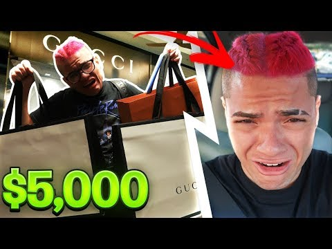 I SAID YES TO EVERYTHING MY FAMILY SAID FOR 24 HOURS... [MUST WATCH] DYED MY HAIR PINK!! LIFE RUINED