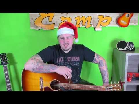 gitarre lernen leise rieselt der schnee weihnachtslieder f r anf nger und kinder youtube. Black Bedroom Furniture Sets. Home Design Ideas