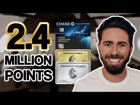 HOW To EARN 2.4 MILLION MILES [2019] 11 CREDIT CARD HACKS