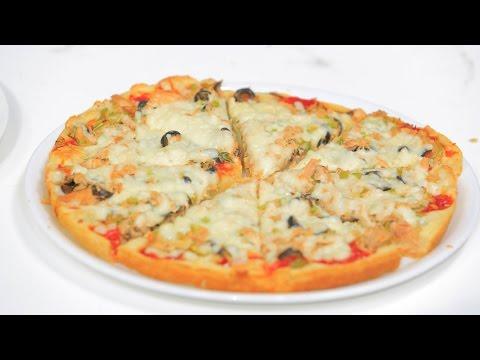 صورة  طريقة عمل البيتزا بيتزا | نجلاء الشرشابي طريقة عمل البيتزا من يوتيوب