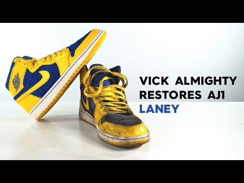 Restorations with Vick - Air Jordan 1