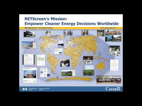 Introduction to RETScreen Clean Energy Management Software