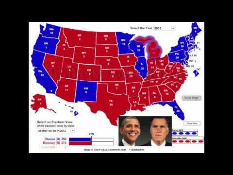 New 2012 Election Predictions: ROMNEY vs. OBAMA