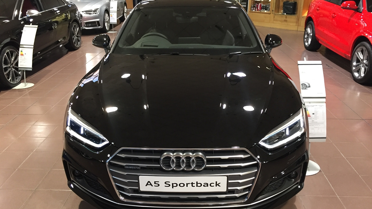 2018 new audi a5 sportback exterior and interior review youtube. Black Bedroom Furniture Sets. Home Design Ideas