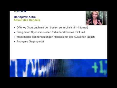 Webinar: Das offene Xetra-Orderbuch