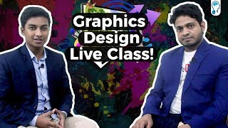 Discussion on Graphics Design with Graphics Design Live Class