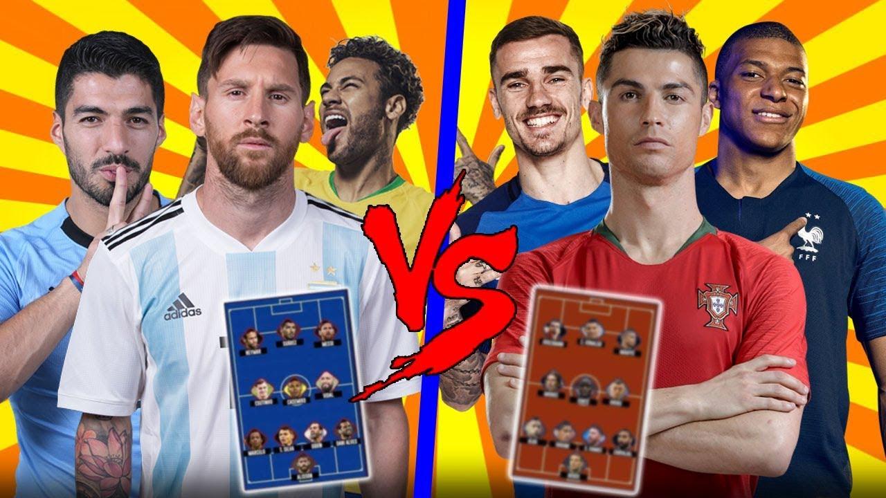Europe Best XI VS South America Best XI  | Wich Is The Best 🔥🔥?