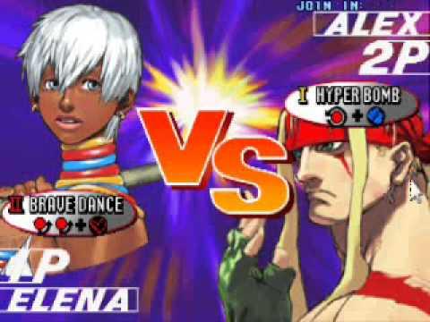 Street Fighter 3 Vs Screen Youtube