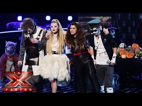Only The Young sing Monster Mash / Crocodile Rock Mash Up | Live Week 4 | The X Factor UK 2014