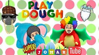 Gambar cover PlayDoh Challenge Pt 2 (Super Jomar & Super Jdad)