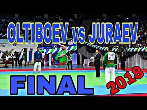 Oltiboev (UZB) vs Juraev (UZB). final open international