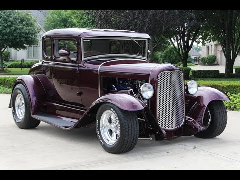 1930 ford 5 window coupe street rod for sale youtube. Black Bedroom Furniture Sets. Home Design Ideas
