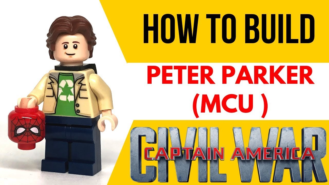 HOW TO Build PETER PARKER from the MCU as a LEGO Figure