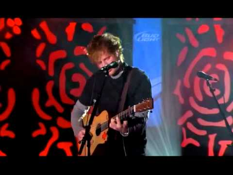 Ed Sheeran - You Need Me I Don't Need You  - On US TV (Didn't air)