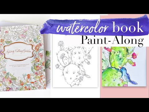 Learn to Paint a Watercolor Cactus
