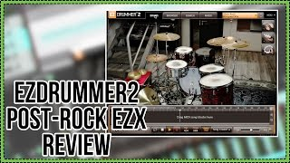 Toontrack Post-Rock EZX Review | Expansion for EZDrummer 2