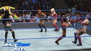 WWE 2K19 SMACKDOWN LIVE WOMEN